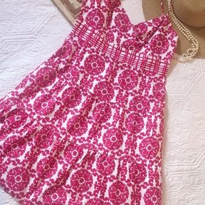 Tommy Hilfiger bright pink sundress